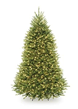 #!Cheap National Tree 7 1/2' Dunhill Fir Tree, Hinged, 750 Clear Lights (DUH-75LO)