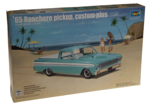 Trumpeter 1/25 1965 Custom Plus Ford Falcon Ranchero Pickup (1965 Ford Falcon Model compare prices)