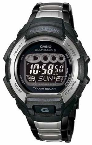 CASIO MULTI-BAND ATOMIC SOLAR WATCH METAL BAND GW810BXD-1 - Buy CASIO MULTI-BAND ATOMIC SOLAR WATCH METAL BAND GW810BXD-1 - Purchase CASIO MULTI-BAND ATOMIC SOLAR WATCH METAL BAND GW810BXD-1 (Casio, Jewelry, Categories, Watches, Men's Watches)