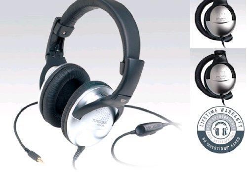 Koss Folding Studio/Dj Headphones With In-Line Volume Control