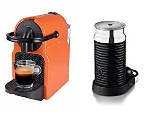 magimix nespresso inissia summer sun and aeroccino coffee machine 0 7 litre. Black Bedroom Furniture Sets. Home Design Ideas