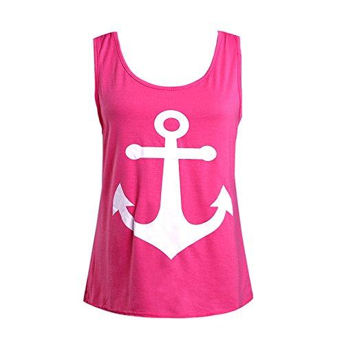 LIZHOUMIL Women Summer Vest Top Sleeveless Blouse Tank Tops T-Shirt