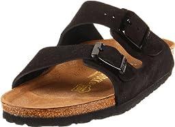 Birkenstock Arizona Sandal Black Suede Size 36