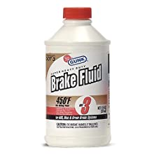 Gunk M4312 DOT 3 Super Heavy Duty Brake Fluid - 12 fl. oz.