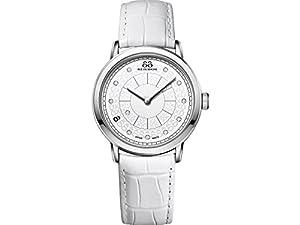 88 Rue Du Rhone 87WA120019 - Reloj de pulsera mujer, piel, color blanco