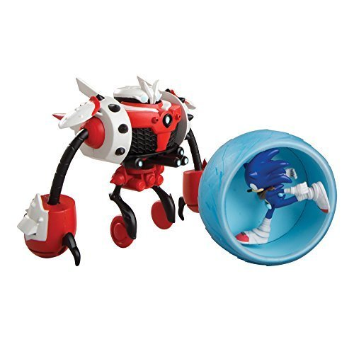 Sonic Boom Sonic vs. Burnbot Playset by TOMY