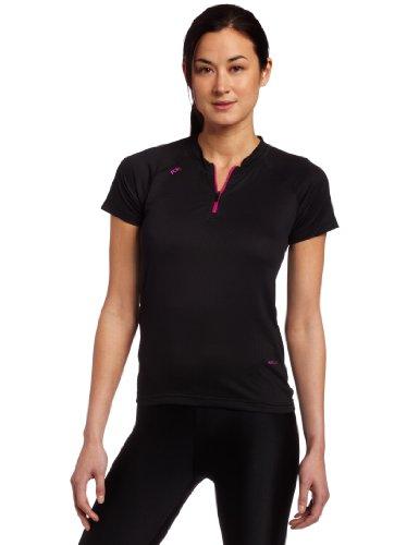 Fox Clothing Tempo Womens Short Sleeve Mountain Bike Jersey Large Black