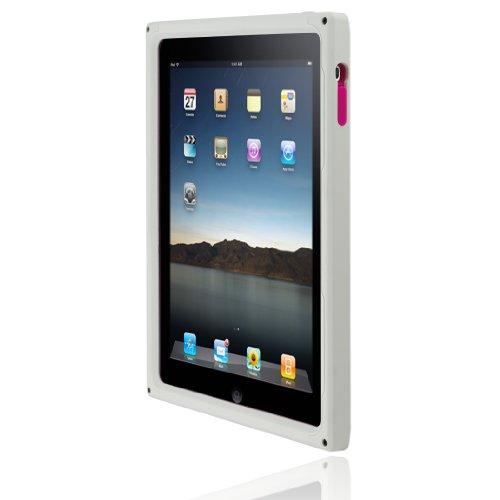 Incipio Ipad Destroyer Hard Shell Case With Silicone Core - White/White front-286611