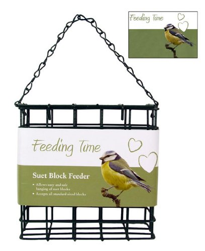 Feeding-Time-Wild-Bird-Deluxe-Suet-Block-Feeder