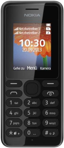 Nokia A00014805 108 Handy (4,6 cm (1,8 Zoll) QQVGA-Display, 160 x 128...