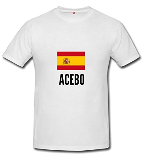 T-shirt Acebo city white