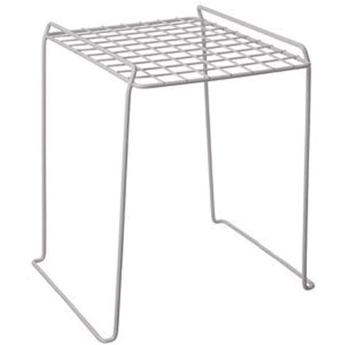 Grayline 40194, Locker Stacking Shelf, White