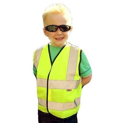Hymac Childrens Yellow Hi Vis Vest All Sizes