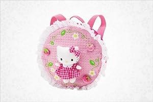 Hello Kitty Petite Backpack: Strawberry