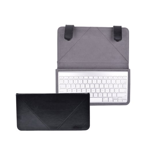 Cosmos ® Premium Black Color Synthetic Leather Protective Case for Apple Wireless Bluetooth Keyboard MC184LL/B