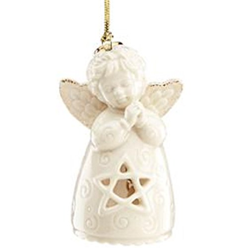 Lenox Angel Wishes Star Bell Ornament