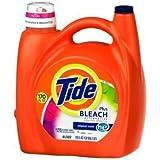 Tide HE plus Bleach Liquid Laundry Detergent, Original - 170 oz. - 88 Loads