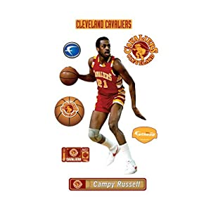 NBA Cleveland Cavaliers Campy Russell Wall Graphic by Fathead