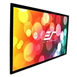 Elite Screens Sable Frame B2 Series, 110-inch Diagonal 16:9, Fixed Frame Home Theater Projection Projector Screen, SB110WH2
