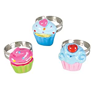 Rhode Island Novelty Mini Cupcake Rings
