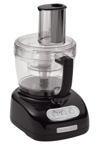For Sale Remanufactured KitchenAid RKFP750OB 12-Cup Food Processor, Onyx Black  Review