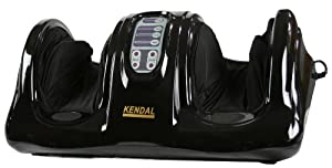 Shiatsu Kneading and Rolling Foot Massager Personal Health Studio w/ remote control AM-201-black by Shining Image