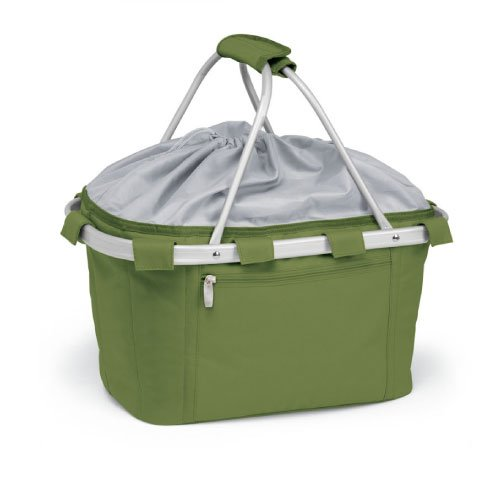 Picnic Time Metro Insulated Basket, Olive Green