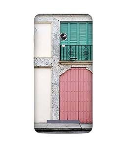 Door Printed Back Cover Case For Asus Zenfone 5
