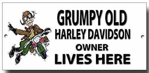 grumpy-old-harley-davidson-owner-lives-here-metal-sign