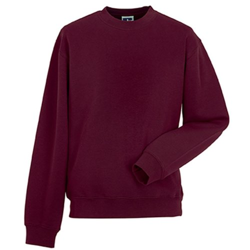 Russell Collection Mens Classic Set-In Sleeve Sleeve Sweatshirt