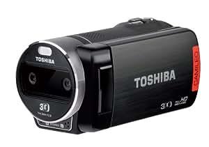 Toshiba Camileo Z100 3D Caméra (5Mp, 4x Zoom numérique) 2,7 pouces LCD