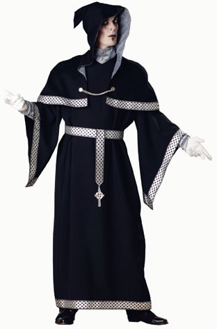 Adult Sorcerer Warlock Adult Costume (Size: Large 42-44)