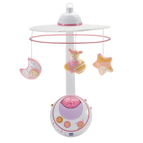 Chicco Magic Star Cot Mobile (Pink)