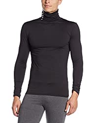 Superdry Men's Synthetic Sweater (5054265580529_M60000PM_L_Black)