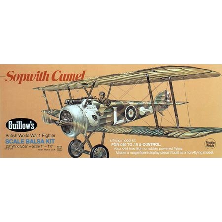 Sopwith Camel - Buy Sopwith Camel - Purchase Sopwith Camel (Guillow, Toys & Games,Categories,Arts & Crafts)