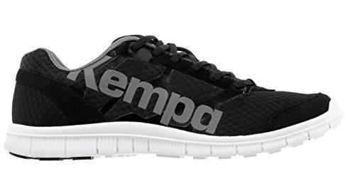 Kempa K-Float - Scarpe da Pallamano Unisex - Adulto, Multicolore (Noir/Anthra), 38 EU
