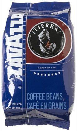 Lavazza Tierra! 100% Arabica Whole Bean Espresso Coffee, 2.2 lbs Bag (Quantity of 1)