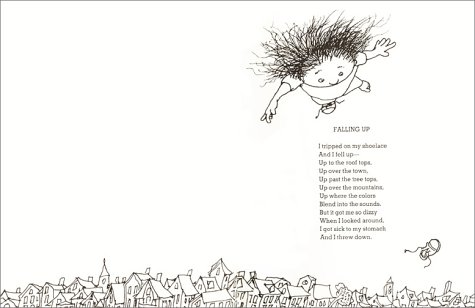 Falling up Poems And Drawings Falling up Shel Silverstein