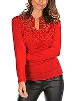 La Bella Donna Camiseta Manga Larga Zoe (Rojo)