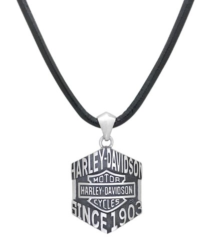 Harley-Davidson .925 Silver Class Of It's Own Collection Necklace