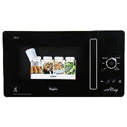 Whirlpool Microwave Oven Jet Crisp - 25 Litre Black