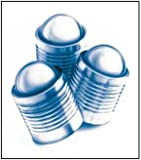 Stainless Steel 303 Expansion Plugs - rated to 30000 psi - .375OD, .397L (Pack of 10)