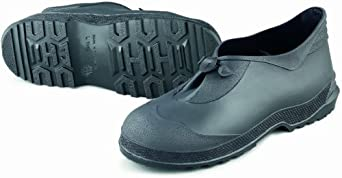 ONGUARD 89810 PVC Gator Shoe with Lug Outsole, Black, Size Medium