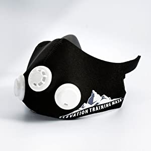 Elevation Training Mask 2.0 Black Medium