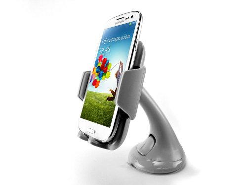 Cellet Dashboard / Windshield Car Mount Phone Holder For Sony Xperia Z1 - Gray