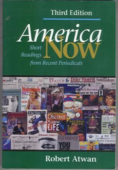 America Now: Short Readings From Recent Periodicals, 3rd Ed., Instructors Edition (From Discussion to Writing: Instructional Resources for Teaching America Now, 3rd) (America Now Short Reading compare prices)