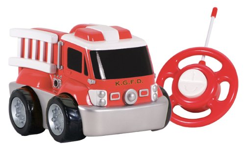 kid-galaxy-my-first-rc-fire-truck-toddler-remote-control-toy-red-49-mhz
