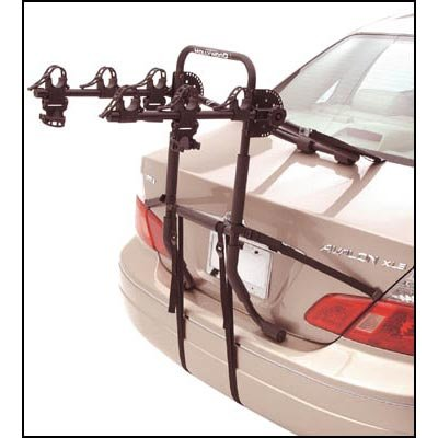 Hollywood Racks Expedition 3 Bike Trunk Mounted Rack - F6