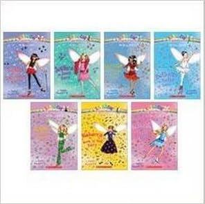 The Dance Fairies Boxed Set (7 Books) (Rainbow Magic, #1: Bethany the Ballet Fairy; #2: Jade the Disco Fairy; #3: Rebecca the Rock 'n' Roll Fairy; #4: Tasha the Tap Dance Fairy; #5: Jessica the Jazz Fairy; #6: Serena the Salsa Fairy; #7: Isab