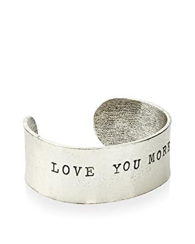 """Alisa Michelle """"Love You More"""" Silver Cuff"""